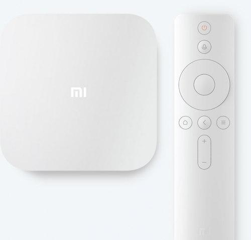 ТВ приставка Xiaomi Mi TV Box 4 (белый) Азия