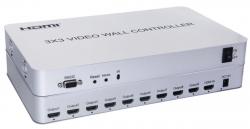 Контроллер видеостены - HDVW9L (3x3, 2x3, 3x2, 4x1, 4x2, 1x2, 1x3, 1x4, 2x4, 2x2)