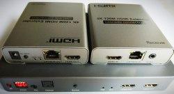 HDMI сплиттер/свитчер 2*6 по RJ45 и удлинитель 120m 4K 1080p (Splitter, Switcher, Extender)
