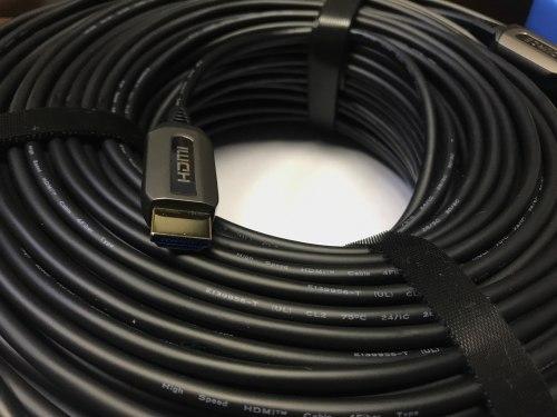 Кабель HDMI 150м ver. 2.0 оптический (150 метров, гибридный оптоволокно+медь)