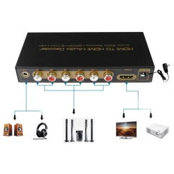 Аудио конвертер hdmi Audio Extractor в RCA 5.1