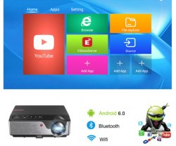 Проектор TouYinger Full HD RD826 Android Version