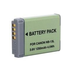 Аккумулятор для Canon NB-13L для PowerShot G7 X / G9 X
