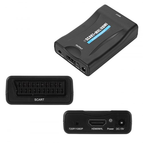 Конвертер SCART to HDMI преобразователь, переходник
