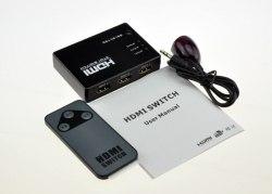 HDMI Switch 3*1 + пульт (из 3-х HDMI в 1-HDMI)