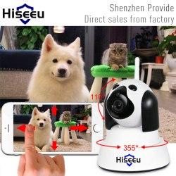 Hiseu Поворотная IP-камера Беспроводная Ip камера Видеонаблюдения Wi-Fi Камера 720 P Ночного Видения CCTV Видеоняня
