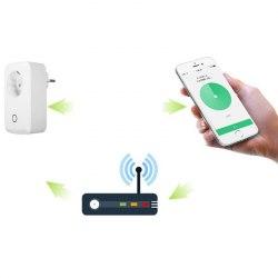 Умная Wi-Fi розетка поддержка IOS и Android, дистанционное управление бытовыми приборами