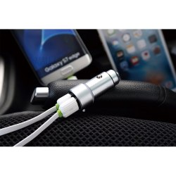 USB блок питания для автомобиля LDNIO 2xUSB 3.6Amp C401