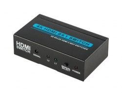 HDMI Switch 2x1 4k*2k (из 2-x HDMI в 1 HDMI) + пульт