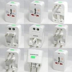Универсальный переходник электрический для розеток, туристический для розеток Европа, USA Америка, Camada Канада, Japan Япония, Малайзия, Мальта, Вьетнам, UAE