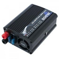 Инвертор 12-220V 800W 12 на 220вольт 800 Ват преобразователь напряжения TBF
