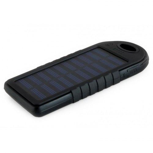 Power Bank Зарядное устройство на солнечных батареях 8000ma, диодный фонарь