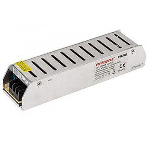 Блок питания для светодиодных лент, мощность 60Вт APS-60L-12BM (12V, 5A, 60W) Arlight