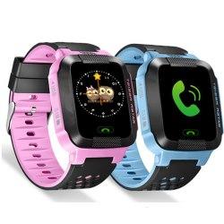 Детские часы smart baby watch g99 с gps трекером цвет сине-голубой