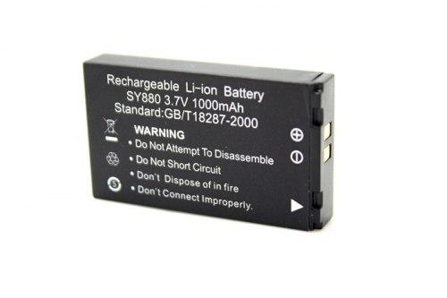 Аккумулятор SY880 для Экшен камер Li-ion 1000mAh wdv5000, f21 dv SY880 (черный)