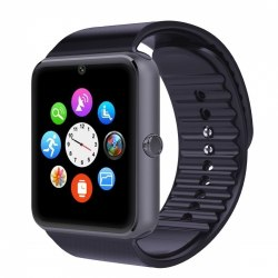 Смарт-часы GT08 Bluetooth 3.0 Черные