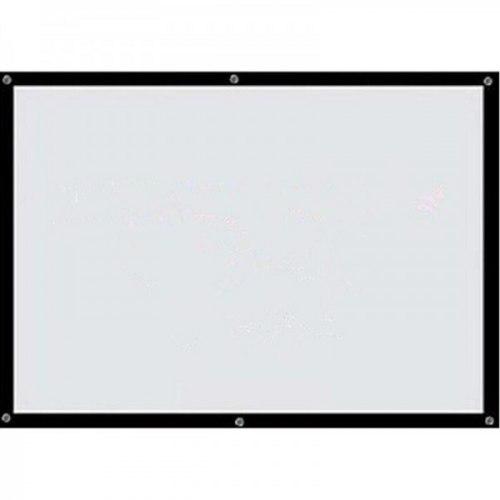 """Рулонный подвесной экран для проектора 221x125 см. (100"""") 100 дюймов"""