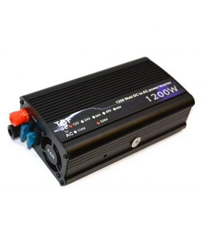 Инвертор 24-220V 1200W 24 на 220вольт 1200 Ват преобразователь напряжения TBF