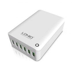 Сетевое зарядное LDNIO A6703 (6USB 7A)