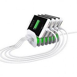 LDNIO A6702 - сетевое зарядное устройство (White)