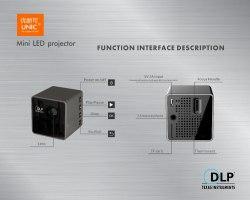 Проектор UNIC P1 Wi-Fi 2.0