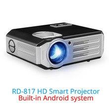 Проектор Мультимедийный Rigal RD817 Android 6.0 HD LED 3000 люмен