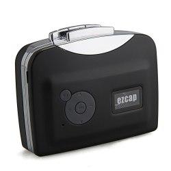 Плеер-конвертер EZCAP 230 для оцифровки аудиокассет