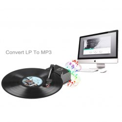 Проигрыватель-конвертер виниловых дисков EZCAP