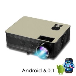 Проектор Touyinger M5 Android 6.0 + Wi-Fi
