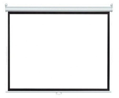 """Моторизированный экран для проектора с электроприводом 80"""" дюймов 160*160 см с пультом ДУ"""