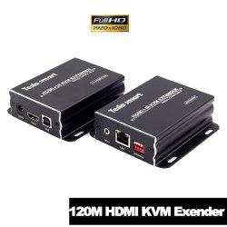 Удлинитель HDMI + USB по витой паре 120м KVM + ИК