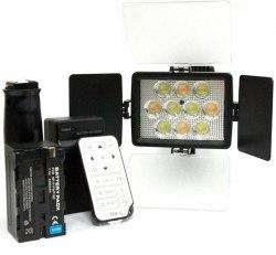 Накамерный свет LED-1030A + пульт