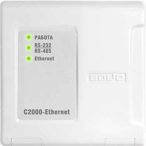 Преобразователь интерфейсов RS-485/RS-232 в Ethernet BOLID С2000-Ethernet
