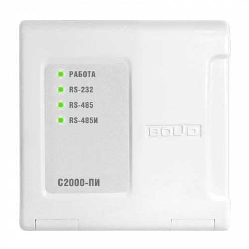 Преобразователь интерфейсов RS-232/RS-485, повторитель интерфейса RS-485 с гальванической развязкой BOLID С2000-ПИ