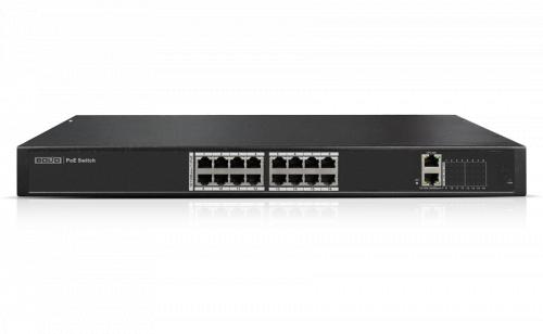 """Коммутатор Ethernet с PoE 19"""" управляемый Bolid SW-216"""
