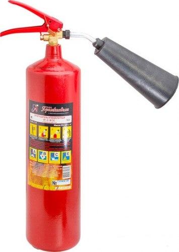 Огнетушитель углекислотный переносной Ярпожинвест ОУ-2