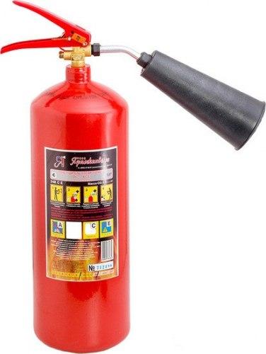 Огнетушитель углекислотный переносной Ярпожинвест ОУ-3