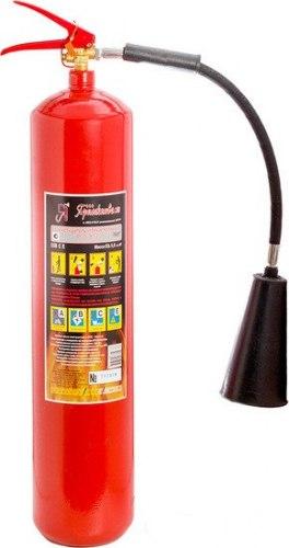 Огнетушитель углекислотный переносной Ярпожинвест ОУ-5
