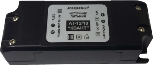 "Блок питания AccordTec AT-12/10 ""КВАНТ"""