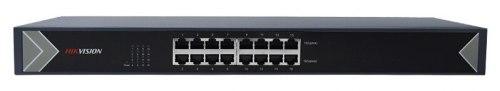"""Коммутатор Ethernet 19"""" Hikvision DS-3E0516-E"""
