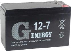 Аккумуляторная батарея G-energy 12-7