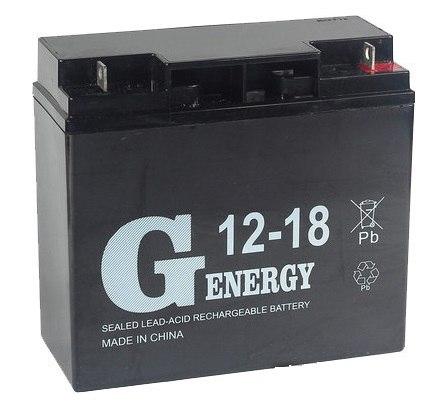 Аккумуляторная батарея G-energy 12-18