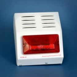 Светозвуковой оповещатель для наружной установки АСМ-04