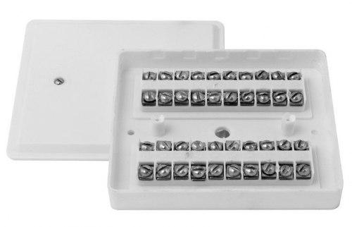 КРТП 10х2 Коробка телефонная распределительная плоская КРТП 10х2