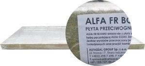 Плита из минеральной ваты Alfa FR Board