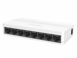 Коммутатор Ethernet настольный Hikvision DS-3E0108D-E