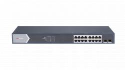 "Коммутатор Ethernet с PoE 19"" Hikvision DS-3E0518P-E/M"
