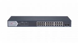 "Коммутатор Ethernet с PoE 19"" Hikvision DS-3E0526P-E/M"