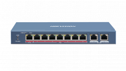 Коммутатор Ethernet с PoE настольный Hikvision DS-3E0310HP-E