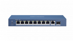 Коммутатор Ethernet с PoE настольный Hikvision DS-3E0510P-E